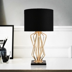 Creative Marble Pedestal Table Lamp
