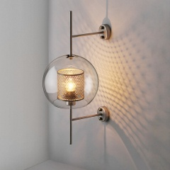 Chiswick Globe Glass Wall Sconce