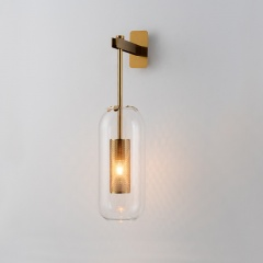 Chiswick Capsule Glass Wall Sconce 3 Heights