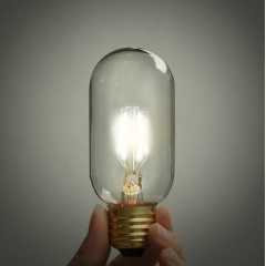 Classic Edison Light Bulb T45 4W LED (3 or 6 pack)