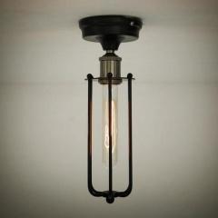 Pencil Cage Industrial Retro Vintage Ceiling Light