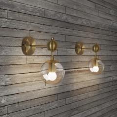 Ritz single wall light sconce