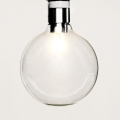 Large Round LED Bulbs G95 5W - Classic Edison Bulb Inspired (3, 6, or 10 pack)