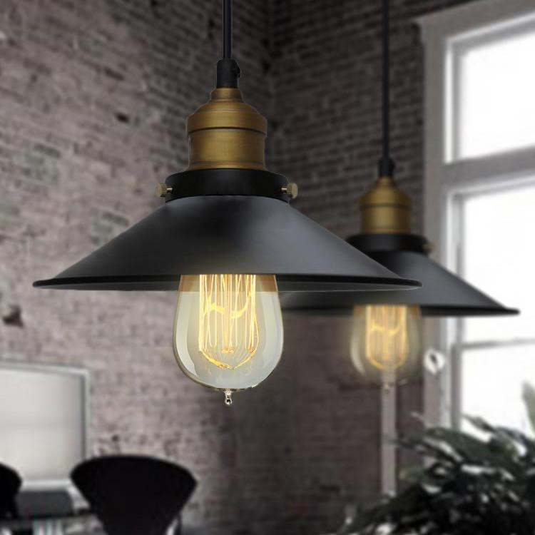 Industrial Shade Chandelier with 3 or 5 Lights
