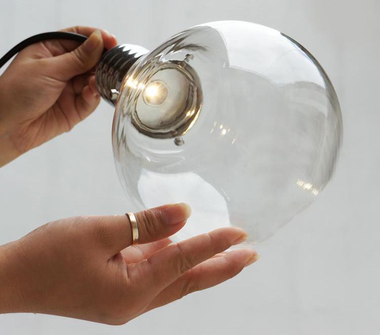 Cancri Glass Bulb Cluster Pendant Light
