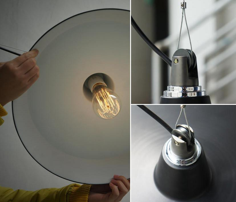 Pulley Industrial Retro Shade Pendant Ceiling Light