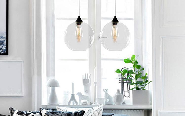 Tuscany Round Glass Pendant Light