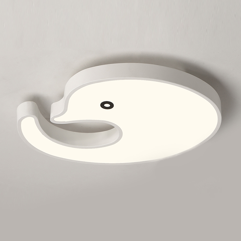 Led Dimmable Dolphin Flush Mount Ceiling Light for Kid