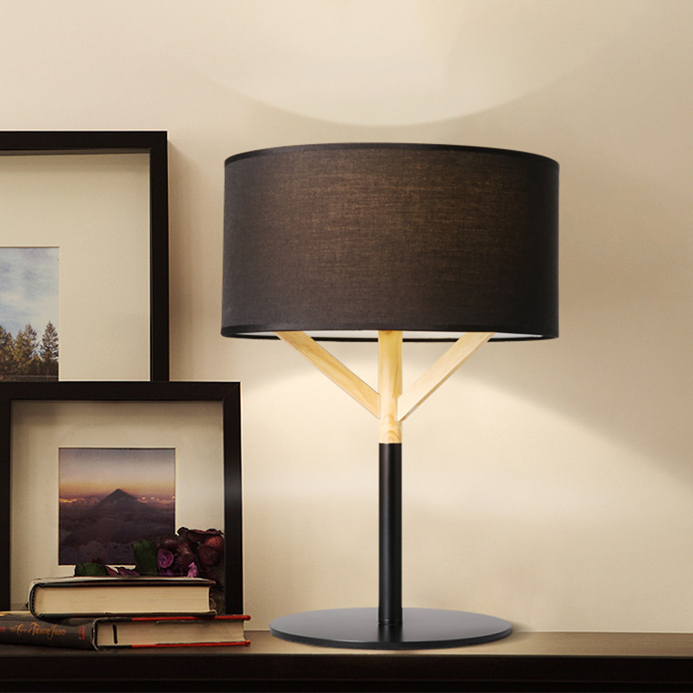 Fabric Table Lamp Bedside Lamp