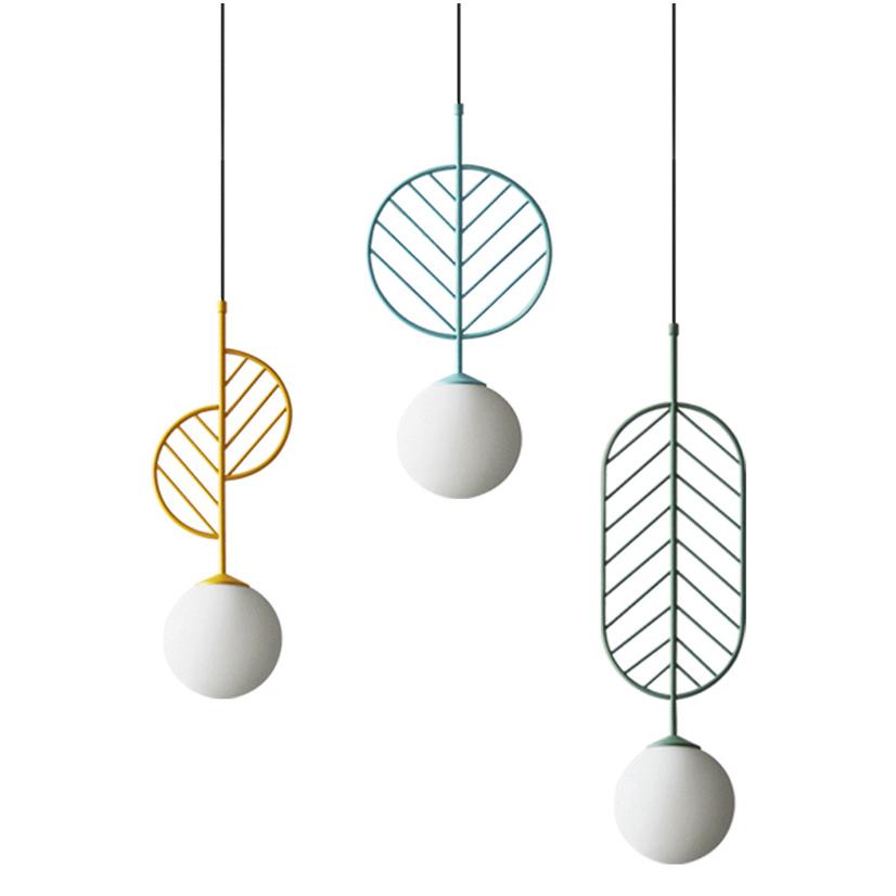 Unique Design Mini 1 Light Metal Pendant