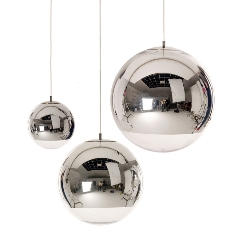 Mirror Ball Glass Pendant Light