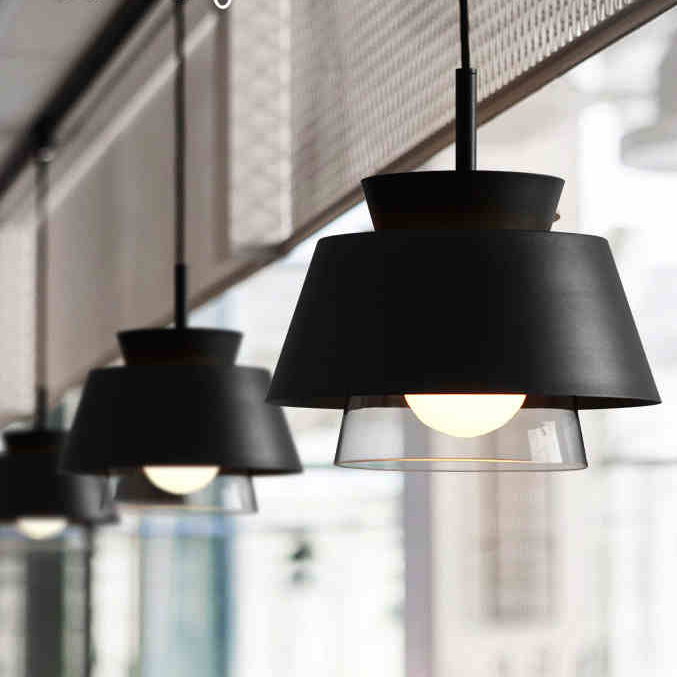 Modern 1 Mini Metal Glass Haning Pendant Light