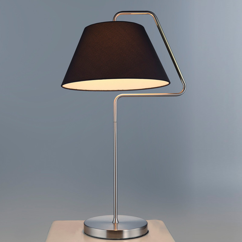 Simple Black/White Flex Table Lamp in Chrome/Golden Finish