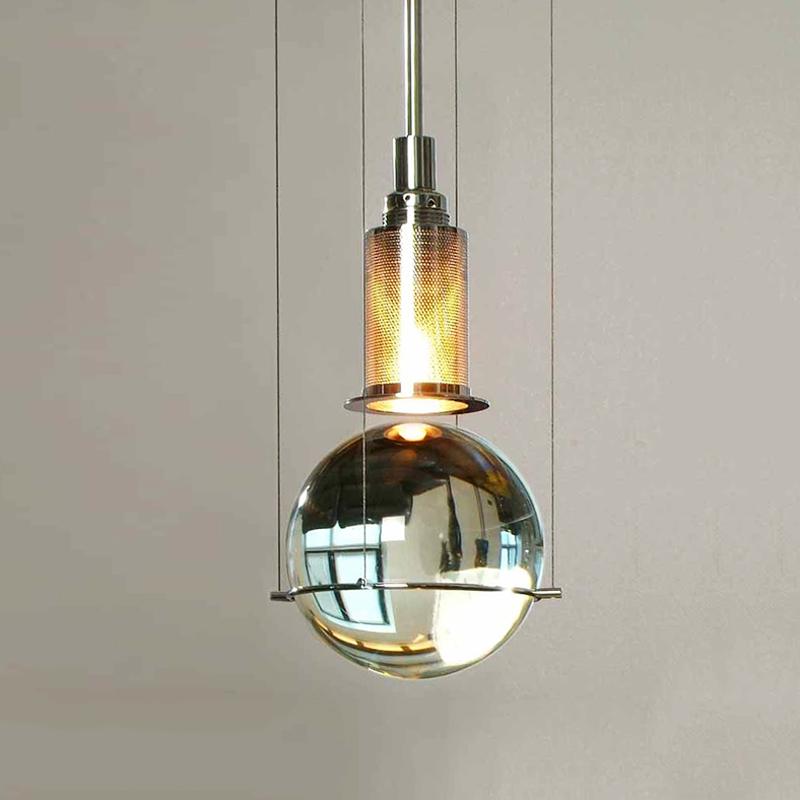 Crystal Ball Pendant Light