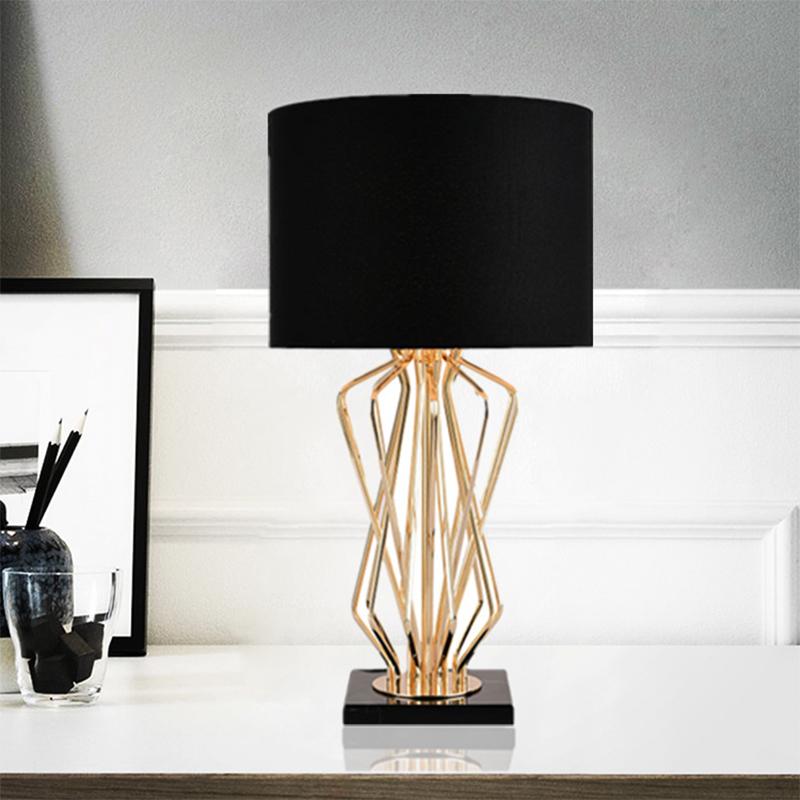 Creative Marble Pedestal Table Lamp
