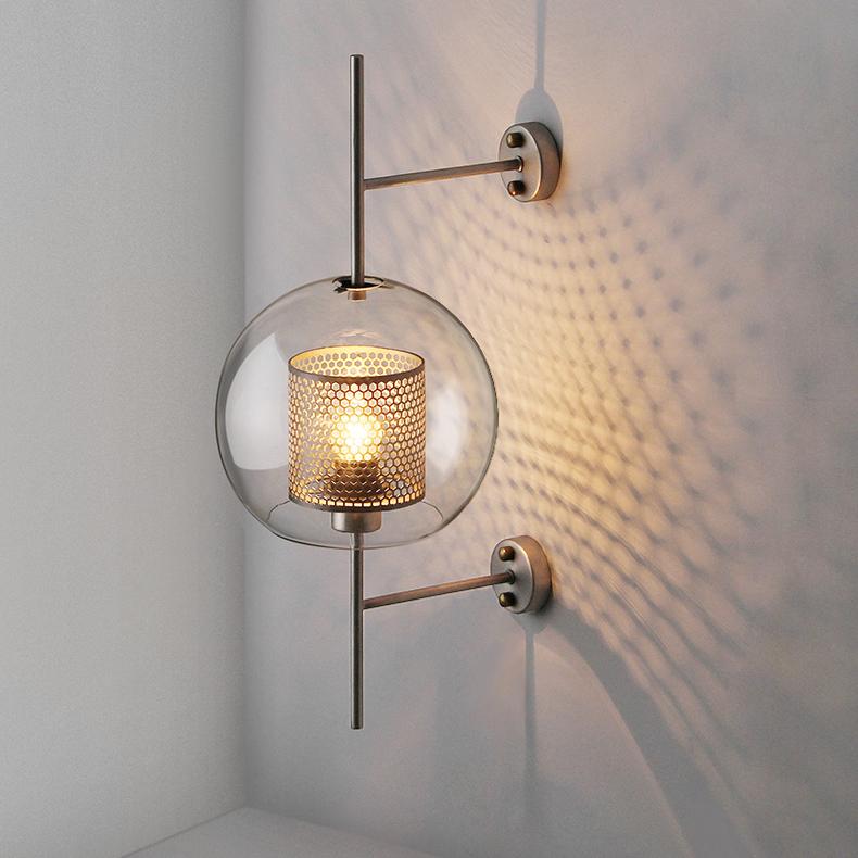 Chiswick Globe Glass Wall Sconce
