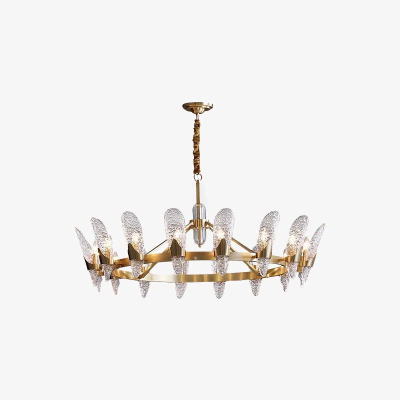 Chandelier/Brass
