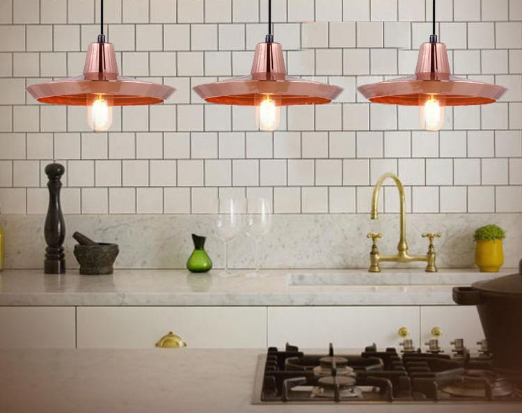 Cuprum - Rustic Copper Modern Pendant Light