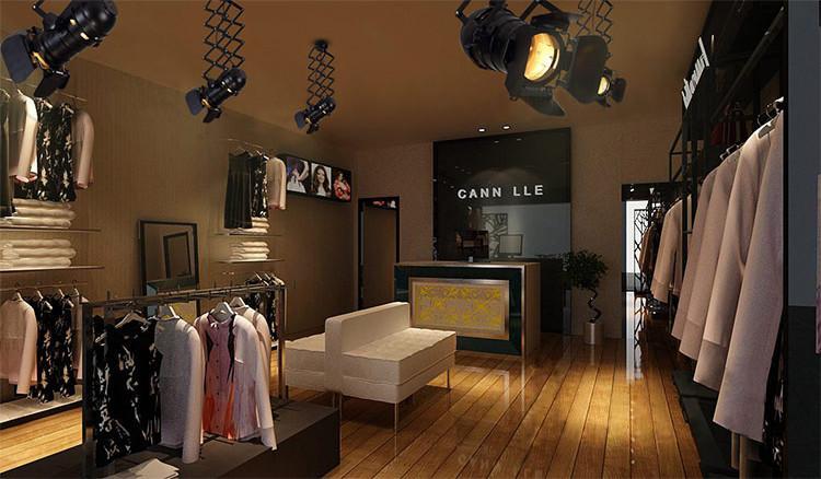 Classic Hollywood spotlight ceiling light (retractable)