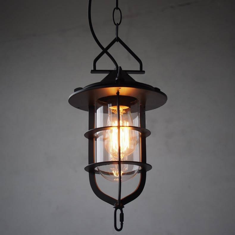 Lyndon Metal Cage Industrial Pendant Light
