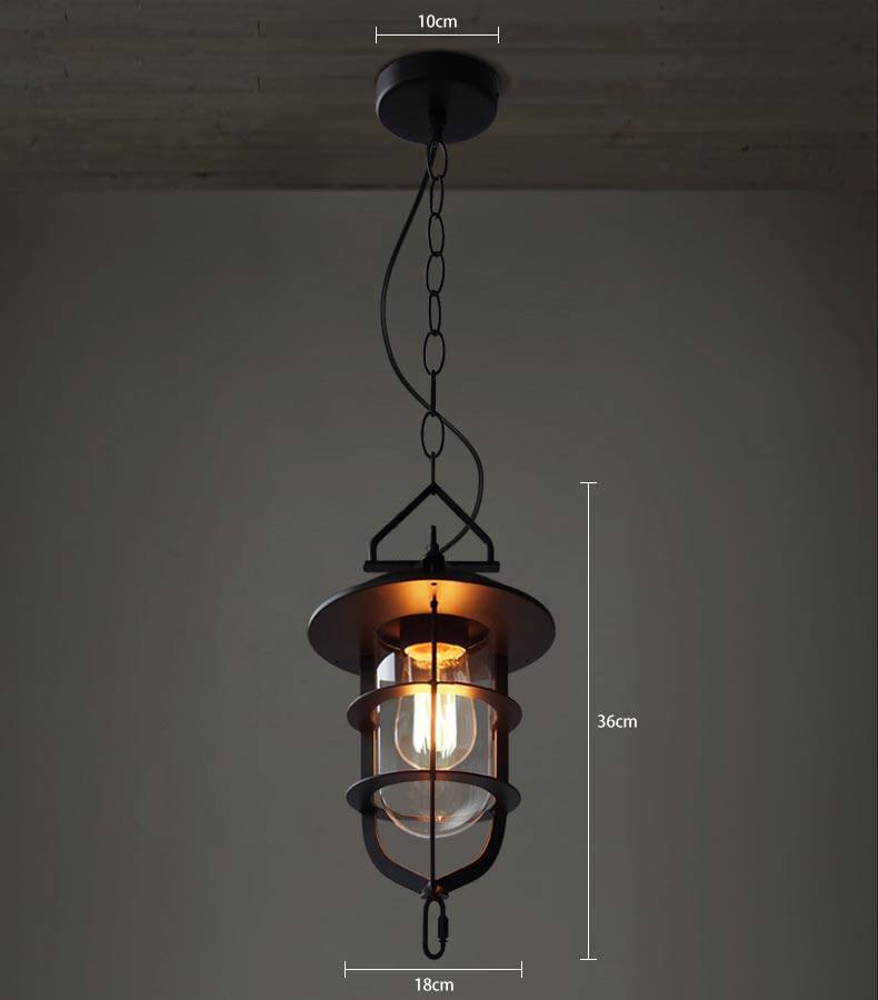 Lyndon Metal Cage Industrial Pendant Light