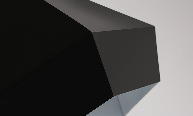 Black Diamond Geometric Pendant Light