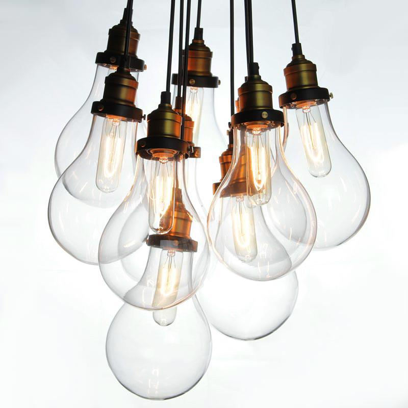 Big Bulbs Cluster Pendant Light Chandelier