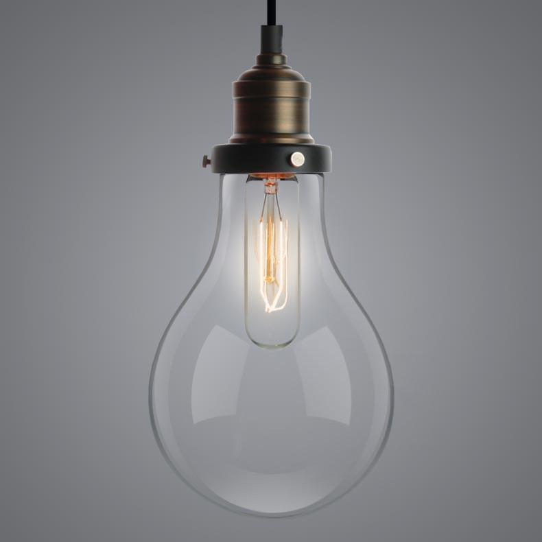 Big Bulbs Cluster Pendant Light Chandelier