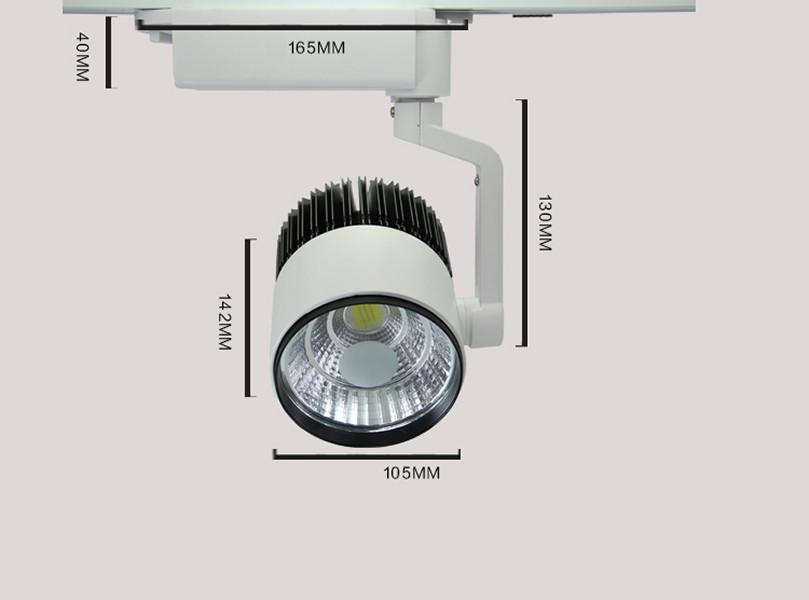 LED Track Spotlights TYPE 02 - pack of 3 units