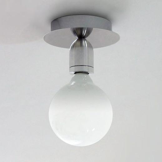 Brushed Steel Ceiling Light