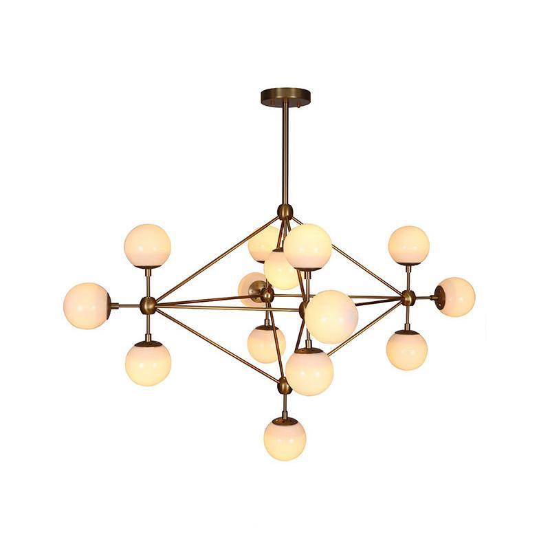 Ritz 14 head cluster chandelier