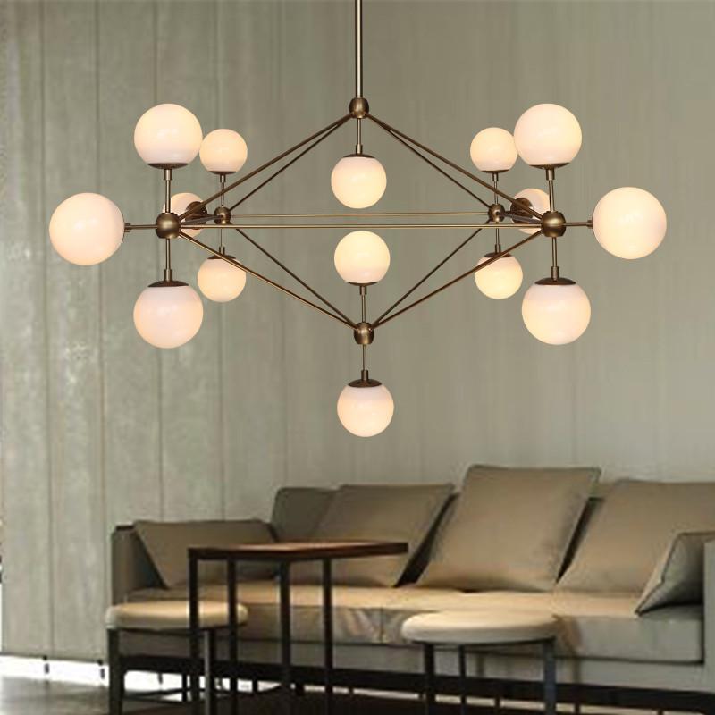 Ritz 15 head cluster chandelier