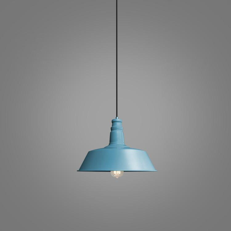 Retro Industrial Pendant Light in candy colours