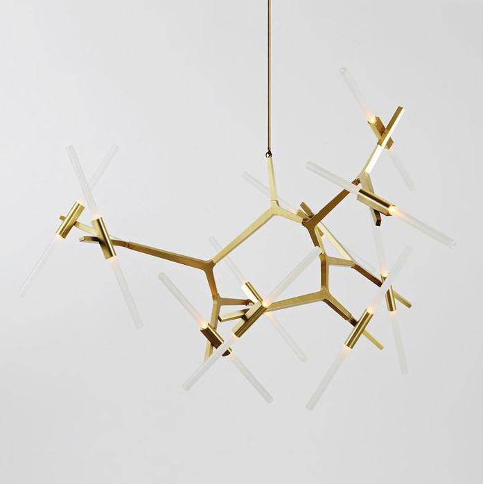 Ténéré Tree Contemporary Designer Ceiling Pendant Light - 18 heads