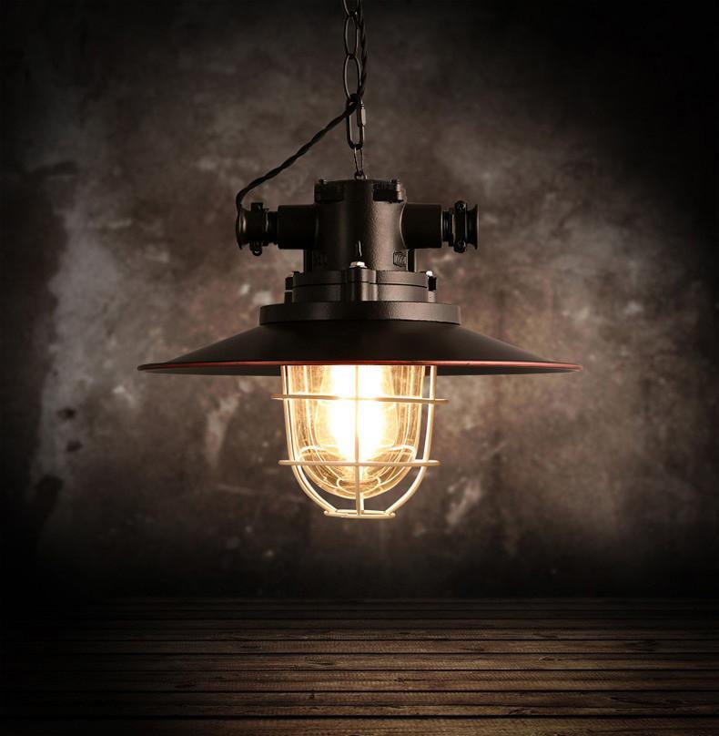 Otto Industrial Retro Pendant Light