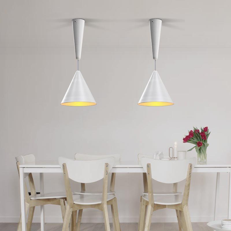 Cone minimalist pendant light