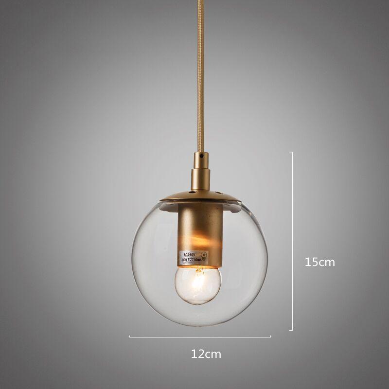 Ritz single pendant light