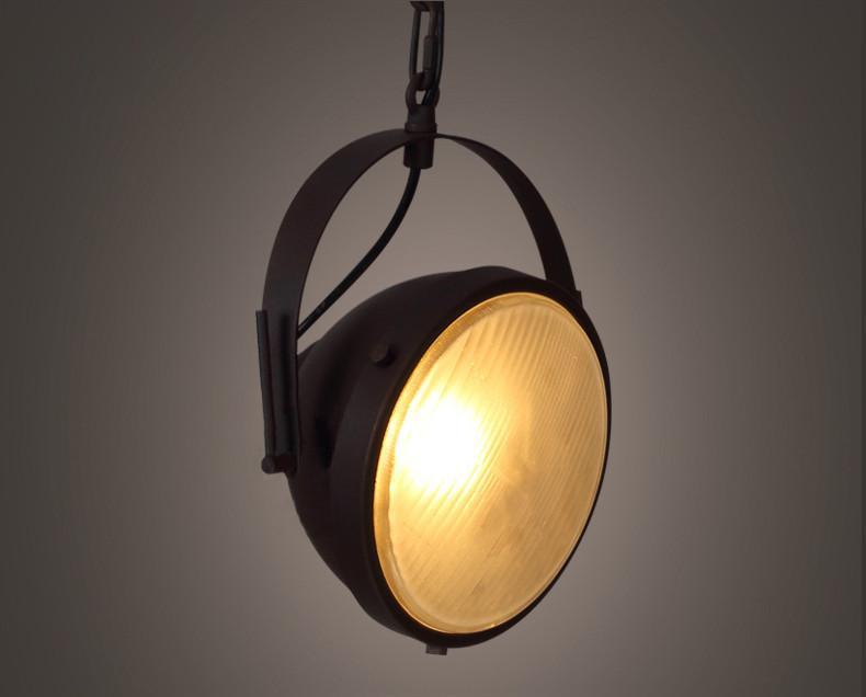 Classic Fresnel Lens Movie pendant light