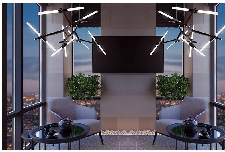 Ténéré Tree Contemporary Designer Ceiling Pendant Light