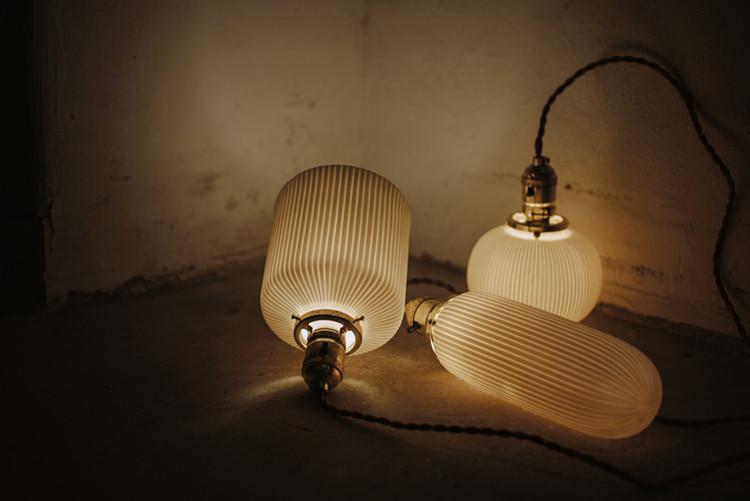 Sjöborre art deco pendant light