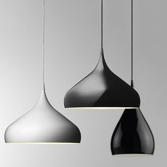 Spinning Teardrop Ceiling Pendant Light