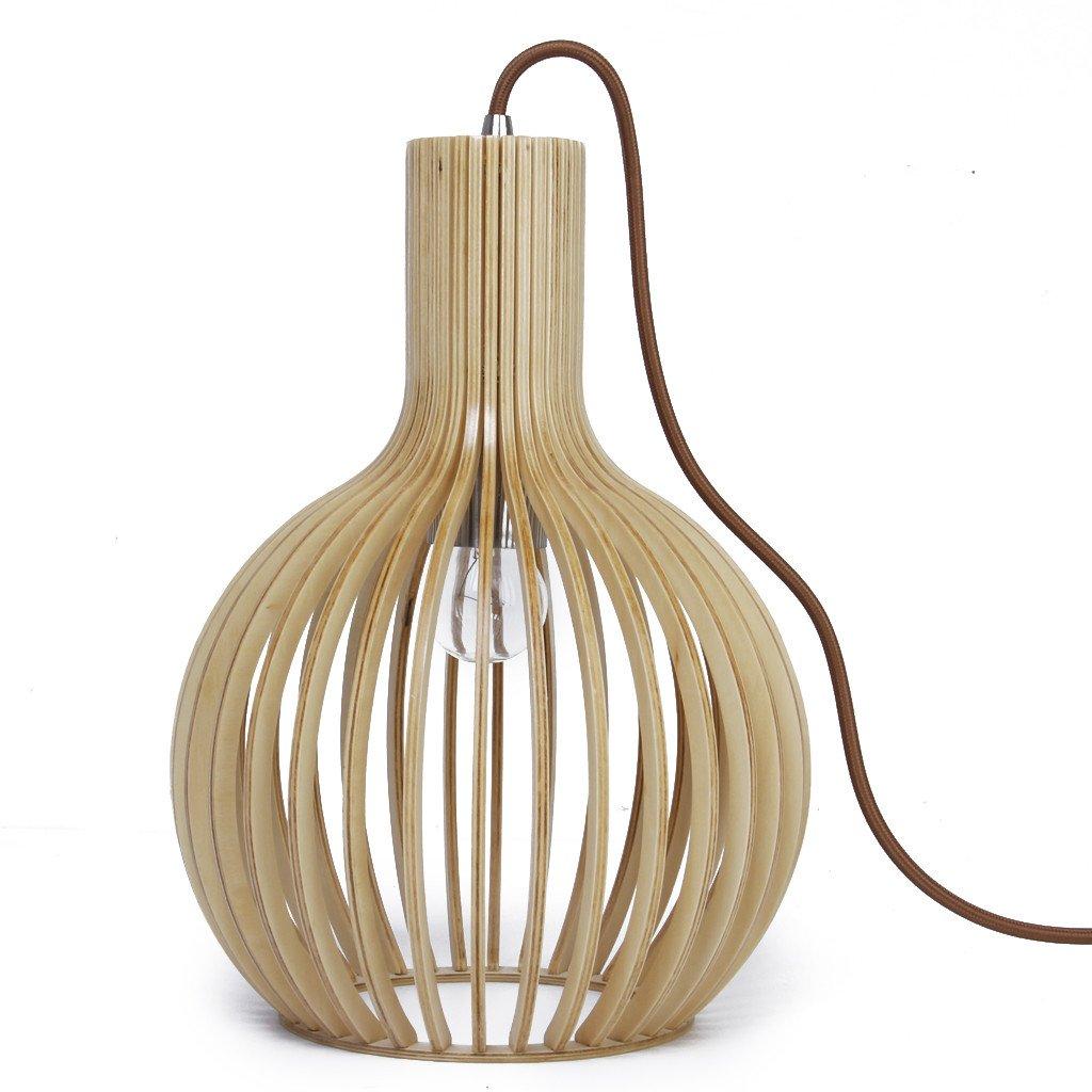 Octo Wooden Pendant Light
