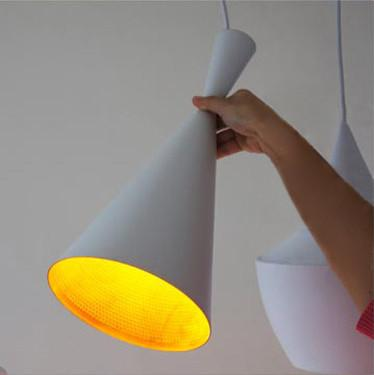 Modern Beat White Pendant Light