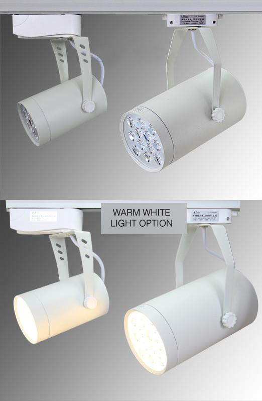 LED Track Spotlights TYPE 01 - pack of 3 units