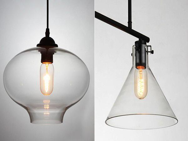 T45 Bulk lot of edison style short pencil 40W filament light bulbs (3 or 6 pack)