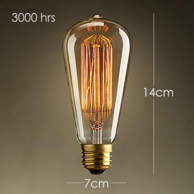 5 Head Water Pipe Industrial Pendant Light