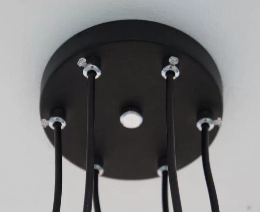 6 Head Industrial Wire Cage Chandelier / Pendant Lights