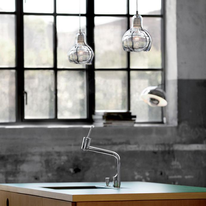 Mega Bulb Glass Pendant Light