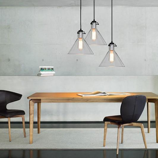 Cone Glass Lamp Shade Pendant Light