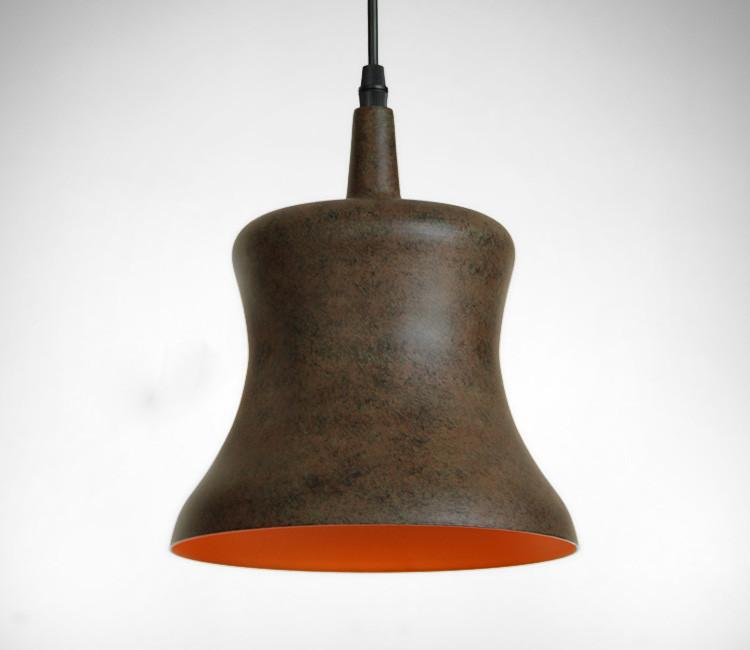 Rustic Contemporary Styled Lamp Shade Pendant Light